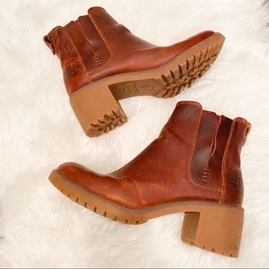 Timberland Booties Leather Size 8.5